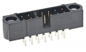 M80-5000442 - 4 way DIL Male Vertical PCB Connector