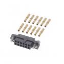 M80-4611205 - Harwin Datamate J-Tek 12 way DIL Female Crimp Small Bore
