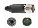 AAA3MBAUZ -Switchcraft XLR 3 Pin Male Cord Plug