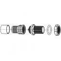 GSCWAM-P02WCE0-0000 ODU AMC High-Density Screw Lock 2 Way Size 00