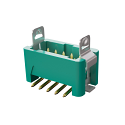 G125-MS11005L3P  1.25MM Male VERT SMT 2X05 POS