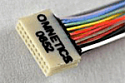 A79012-001 -Omnetics 18 Position Dual Row Male Nano-Miniature Connector - NPD-18-WD-18.0-C-GS
