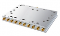 SPI-SP10T-63 - Solid State, RF SP8T 1-6000 GHz Switch