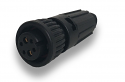 W6A80-8PG-513 -Conxall 8 Pin Male  Mixed Signal/Power Cable End Connector