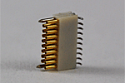 A79043-001  18 Position Dual Row Female Nano-Miniature Connector NSD-18-VV-GS