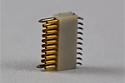 A79043-001  18 Position Dual Row Female Nano-Miniature Connector NSD-18-VV-GS