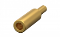 178.106.700.207.000 -ODU Gold Plated Single Contact Socket 1.5mm diameter Screw Termination