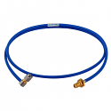141-6SBSMR+ Mini Circuits 141 Hand Flex Cable 6 inch SMA-M Right Angle/SMA-F bulkhead