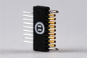 A79001-001  9 Position Single Row Female Nano-Miniature Connector