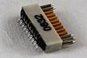 A79019-001  18 Position Dual Row Female Nano-Miniature Connector - NSD-18-VV-GS