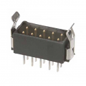 M80-8671022 -Harwin Datamate L-Tek 5+5 Way Male DIL Vertical PCB Connector