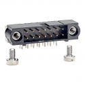 M80-5401442 - 14 way DIL Male Horizontal PC tail with Board Mount