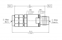 DC BLOCK 5MHz - 40GHz 50V 10W 2.4mm