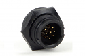 4182-2PG-300 - 2 Pin Male Panel Mount Connector