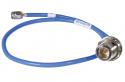 141-10SMNB+ - 141 Hand Flex Cable 10 inch SMA-M/N-F bulkhead