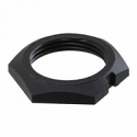 6291 - Mini Con X Panel Mount Hex Nut Black
