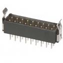 M80-8671822 -Harwin Datamate L-Tek 9+9 Way Male DIL Vertical PCB Connector