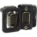 EHHD15MMB - 15 PIN D SUB CONN HD15 MALE TO MALE