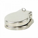 "612 -Switchcraft 1/4"" Jack Cover, Nickel, With Washer"