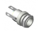 """722A -Switchcraft DC Power Jack, 0.080"""" (2.0mm) pin, solder lugs termination High Temperature"""
