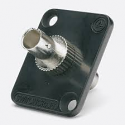 EHST2MB- Switchcraft ST Fibre Optic Feedthru Multi-Mode Black finish