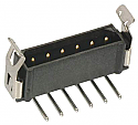 M80-8760222 - 2 Way Through Hole Connector