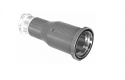 309.030.000.642.000 -ODU In-Line Receptacle Alu-Cast Straight, Bayonet Coupling