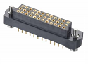 M83-LFT1F2N36-0000-000 - 3-Row J-Tek Female Vertical PCB Connector