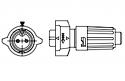 W6282-2PG-P-516 -Conxall Mini-Con-X Insta-Click 2 Pin Male Cable End Connector