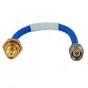 141-7SBSM+ Mini Circuits 141 Hand Flex Cable 7 inch SMA-M/SMA-F bulkhead