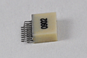 A79040-001  18 Position Dual Row Male Nano-Miniature Connector - NPD-18-AA-GS