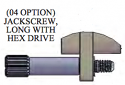 A97007-002 -Omnetics- Jackscrew, #2-56, Extended Length Hex Drive