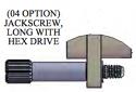 A97007-002 - Jackscrew, #2-56, Extended Length Hex Drive