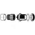 GS0WAM-P16WBC0-0000 ODU AMC High-Density Screw Lock 16 Way Size 0