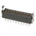 M80-8672022 -Harwin Datamate L-Tek 10+10 Way Male DIL Vertical PCB Connector