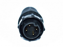 EN3C4MCX - 4 PIN Male, #20 Crimp Contact, Standard Clamp