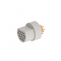 A22036-001 -Omnetics Micro Circular 16 Pin Male  w/PCB Pins- MCP-16-DD