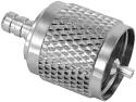 UHF PL-259 Crimp-Crimp Male Plug for RG-58 RG-400