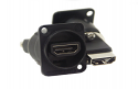 EHHDMI2B- Switchcraft HDMI Feed Through- Switchcraft Black Finish