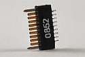 A79003-001  9 Position Single Row Female Nano-Miniature Connector - NSS-09-AA-GS