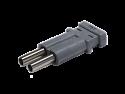 VMTPUHD - 24GHz MidSize Dual Video 75 ohm Terminating Plug