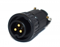3182-3PG-528 - 3 Pin Male Cable End Connector
