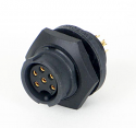 EN3P11F26X - 11 PIN FEMALE PANEL MOUNT CONNECTOR (image is representative only)