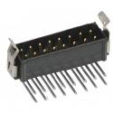 M80-8661622 -Harwin Datamate L-Tek 8+8 Way  Male DIL Horizontal PCB Connector