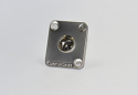 EHT3M -Switchraft  3 contact Male TQG Panel Connector, Nickel