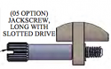 A97008-002 - Jackscrew, #2-56, Extended Length Slotted Drive
