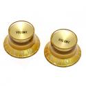 Gold Volume Reflector Knob