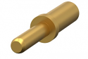 181.106.000.307.000 -ODU Gold Plated Single Contact Solid Pin 1.5mm diameter Solder/Screw Termination