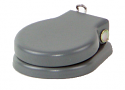 "620 -Switchcraft 1/4"" Jack Cover, Navy Grey, With Washer"